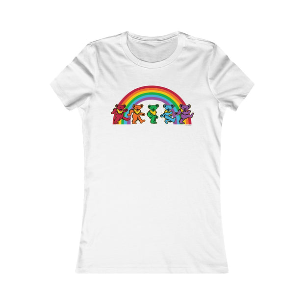 Rainbow Bears Women's Tee