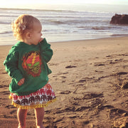 Grateful Dead Scarlet Fire Stealie Toddler Hoodie