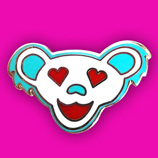 Grateful Dead Love Bear Pins