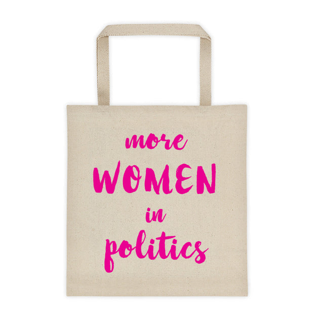 Women are Smarter Flat-Bottom Canvas Tote Bag
