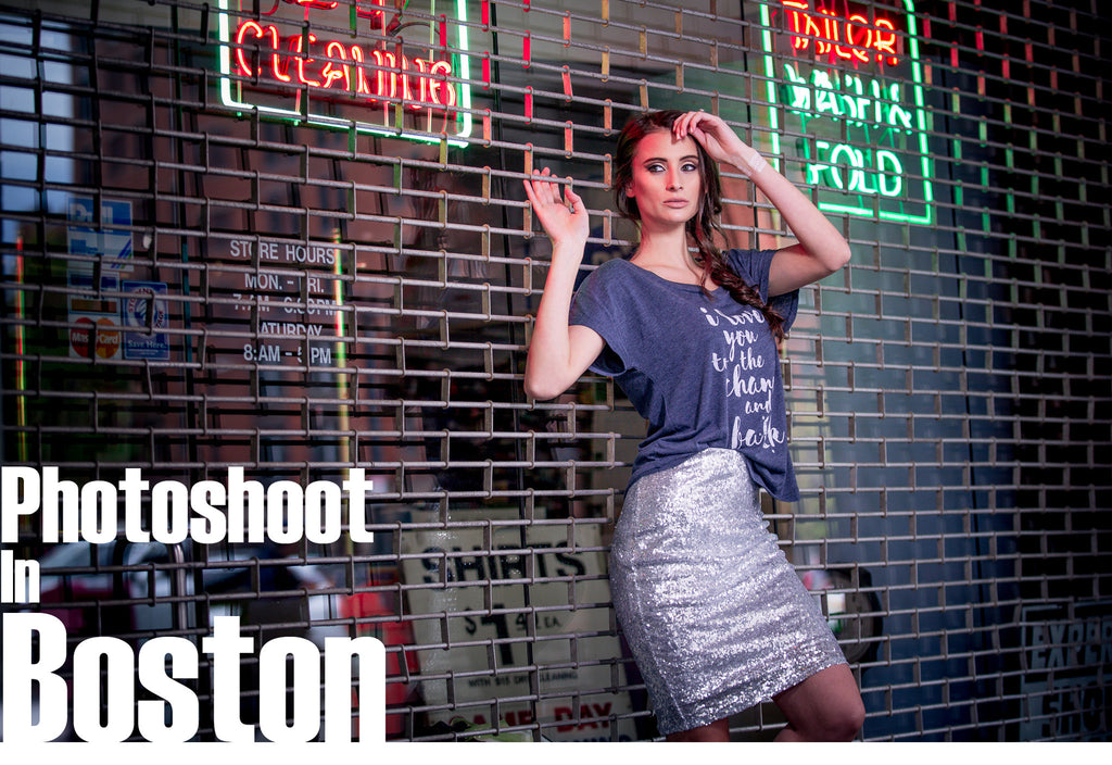 Behind-the-Scenes of Pyarii's Boston Photoshoot