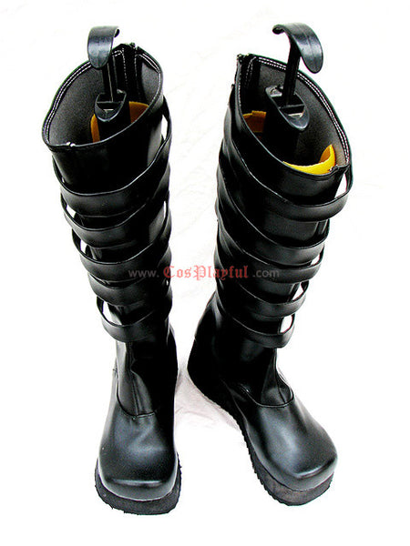 Inspired by D. Gray Man Lavi Cosplay Boots 1st Edition