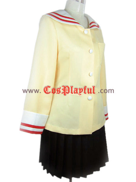 Inspired by Clannad Highschool Girl Uniform Cosplay Costume