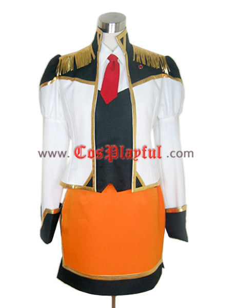 Inspired by Apricot Sakuraba Cosplay Uniform Costume from Galaxy Angel Cosplay - Cosplayful