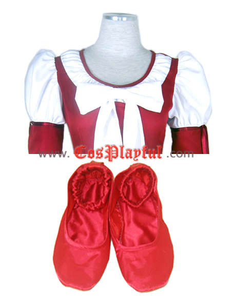 Inspired by Tales of Rebirth CLAIRE Cosplay Costume