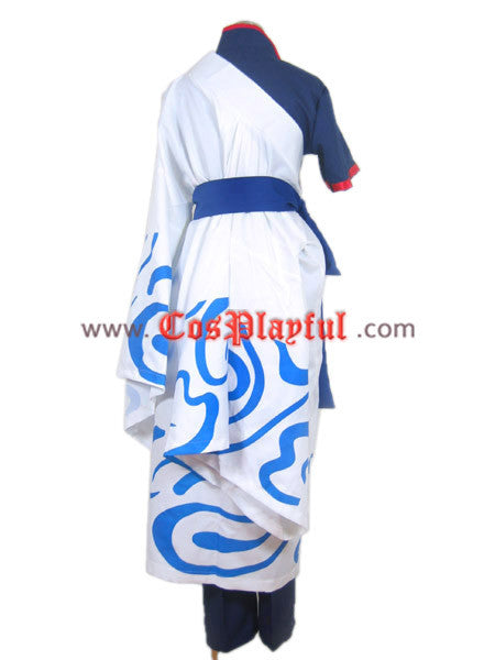 Inspired by Gintama Sakata Gintoki Cosplay Costume