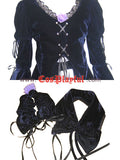 Inspired by Suigintou Mercury Lampe Lolita Cosplay Costume