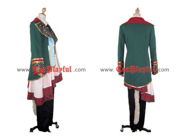 Inspired by Pierce - Heart No Kuni No Alice - Cosplay Costume