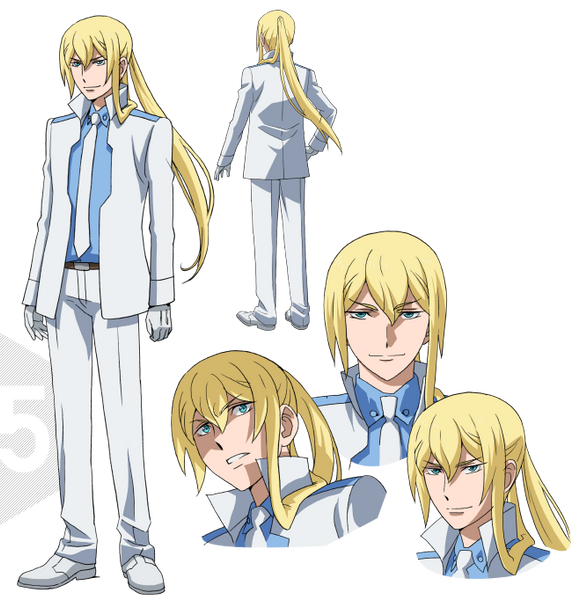 Custom Tailor Made Cosplay Costume Inspired by Wilfrid Kijima from Gundam Build Fighters Try