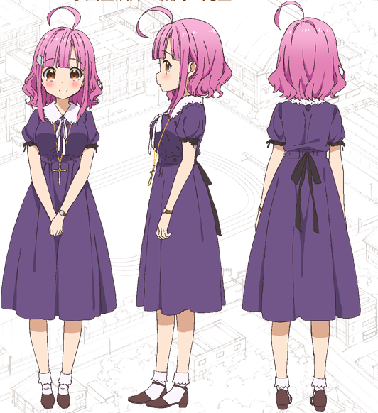 Custom Tailor Made Cosplay Costume Inspired by Megumi Sakura from School-Live!