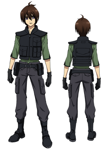 Custom Tailor Made Cosplay Costume Inspired by Tusk from Cross Ange: Rondo of Angels and Dragons