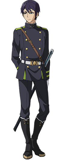 Custom Tailor Made Cosplay Costume Inspired by Shuusaku Iwasaki from Seraph of the End: Battle in Nagoya
