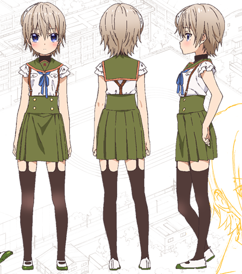 Custom Tailor Made Cosplay Costume Inspired by Miki Naoki from School-Live!