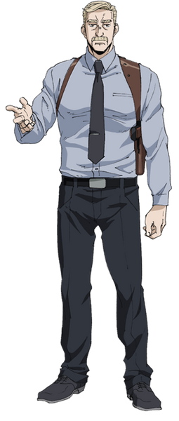 Custom Tailor Made Cosplay Costume Inspired by Miles Mayer from Gangsta
