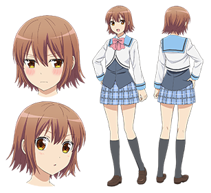 Custom Tailor Made Cosplay Costume Inspired by Yayoi Nakano from Danchigai
