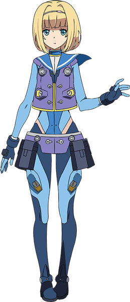 Custom Tailor Made Cosplay Costume Inspired by Milinda Brantini from Heavy Object