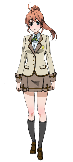 Custom Tailor Made Cosplay Costume Inspired by Hinata Yamabuki from Active Raid: Special Public Security Fifth Division Third Mobile Assault Eighth Unit