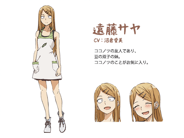 Custom Tailor Made Cosplay Costume Inspired by Saya Endou from Dagashi Kashi