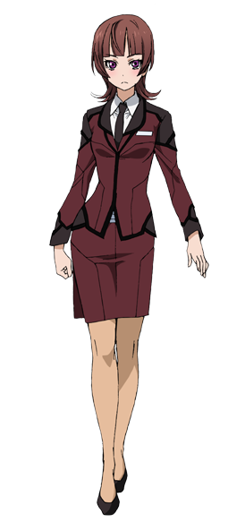 Custom Tailor Made Cosplay Costume Inspired by Asami Kagari from Active Raid: Special Public Security Fifth Division Third Mobile Assault Eighth Unit