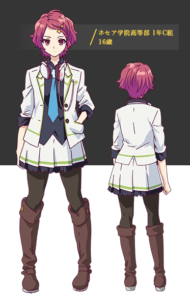 Custom Tailor Made Cosplay Costume Inspired by Koito Minase from Myriad Colors Phantom World