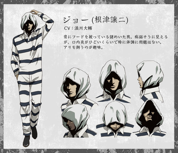 Custom Tailor Made Cosplay Costume Inspired by Jouji Nezu from Prison School