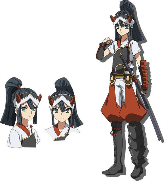 Custom Tailor Made Cosplay Costume Inspired by Hien from Red Dragon War