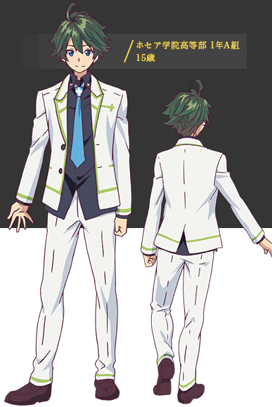 Custom Tailor Made Cosplay Costume Inspired by Haruhiko Ichijo from Myriad Colors Phantom World