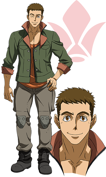 Custom Tailor Made Cosplay Costume Inspired by Norba Shino from Mobile Suit Gundam: Iron-Blooded Orphans