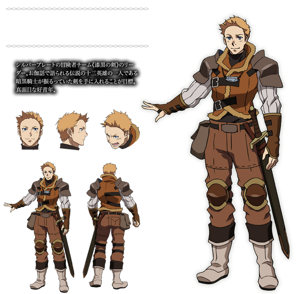 Custom Tailor Made Cosplay Costume Inspired by Peter Mork from Overlord