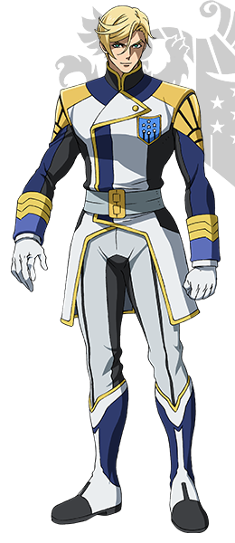 Custom Tailor Made Cosplay Costume Inspired by McGillis Fareed from Mobile Suit Gundam: Iron-Blooded Orphans