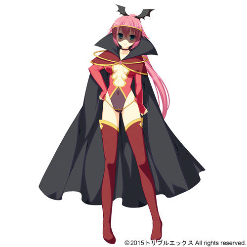 Custom Tailor Made Cosplay Costume Inspired by General Scarlet from Senkou Senshi Silver Justice! ~Onna Kanbu to Ren'ai wo Suru no wa Machigatteiru no Darou ka?~