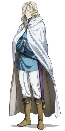 Custom Tailor Made Cosplay Costume Inspired by Narsus from The Heroic Legend of Arslan