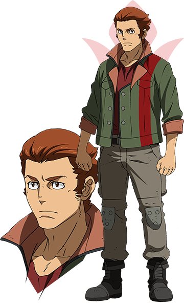 Custom Tailor Made Cosplay Costume Inspired by Dante Mogro from Mobile Suit Gundam: Iron-Blooded Orphans