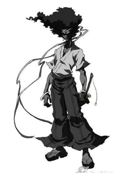 Pants Inspired by Afro Samurai Cosplay Costume