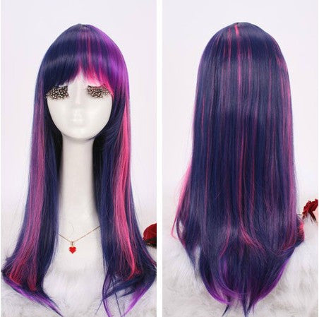 Inspired by My Little Pony Wig Pink and Purple