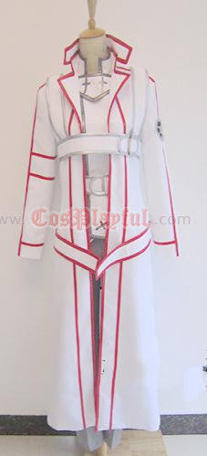 Inspired by Sword Art Online Kazuto Kirigaya Kirito Knights of the Blood Cosplay