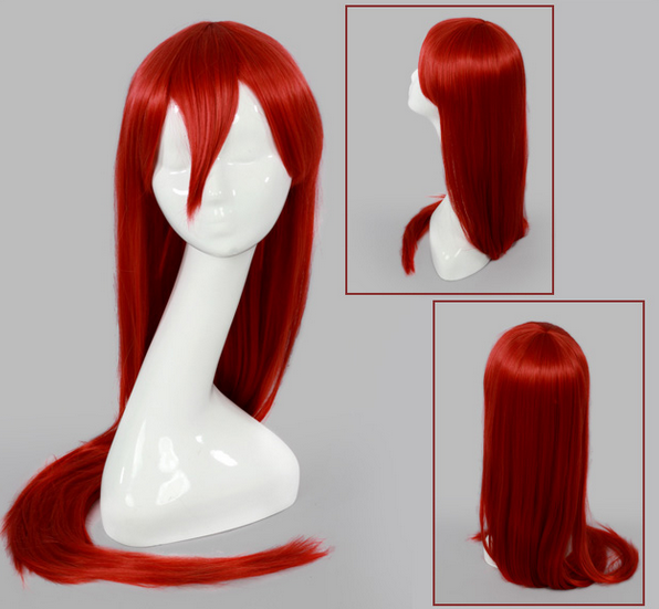 Inspired by Fairy Tail Erza Cosplay Wig