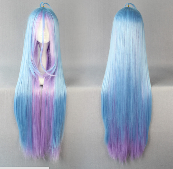 Inspired by No Game No Life Shiro Cosplay Wig
