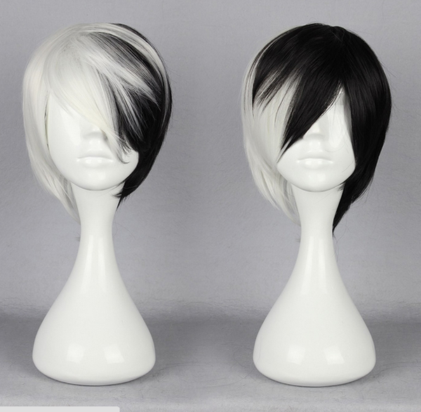 Inspired by Dangan Ronpa Monokuma Cosplay Wig for Boy