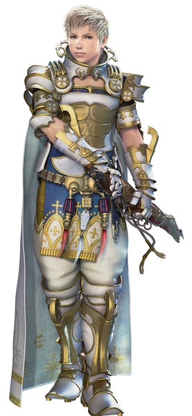 Custom Tailor Made Cosplay Costume Inspired by Rasler Heios Nabradia from Final Fantasy XII