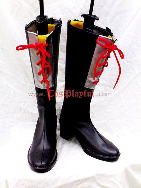 Inspired by D. Gray-Man Jasdevi/ Jastero/ Devit Cosplay Boots