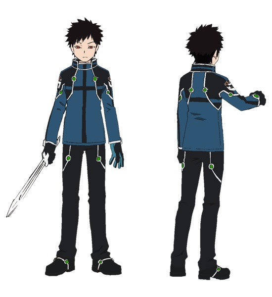 Custom Tailor Made Cosplay Costume Inspired by Souya Kazama from World Trigger