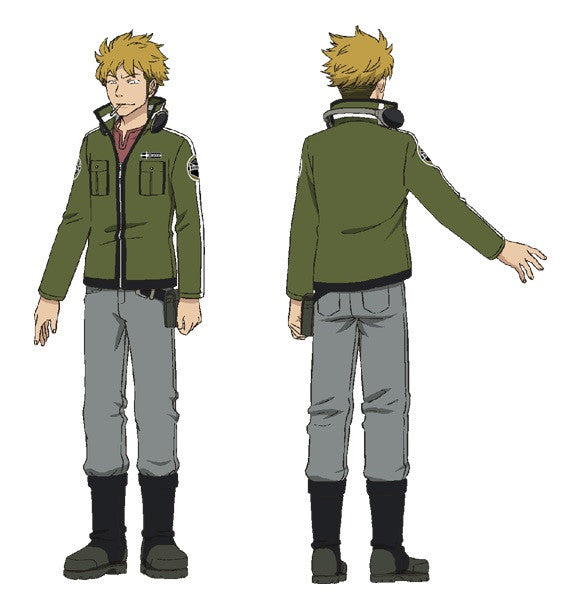 Custom Tailor Made Cosplay Costume Inspired by Koutarou Suwa from World Trigger