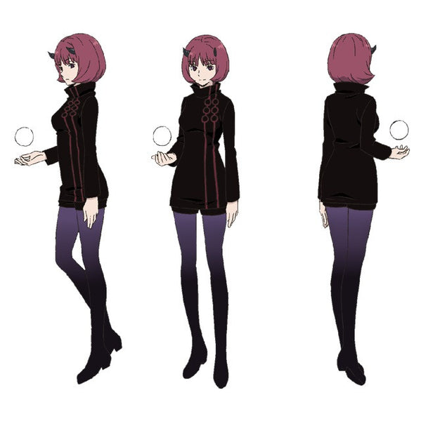 Custom Tailor Made Cosplay Costume Inspired by Moira from World Trigger