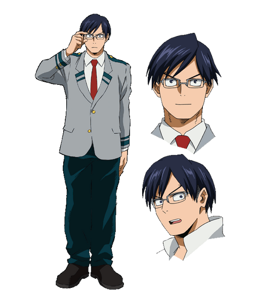Custom Tailor Made Cosplay Costume Inspired by Tenya Iida from My Hero Academia