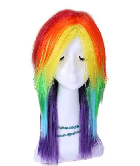 Inspired by My Little Pony Wig Rainbow