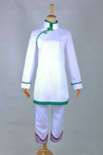 Inspired by Hoozuki no Reitetsu Hakutaku Shirasawa Cosplay Costume