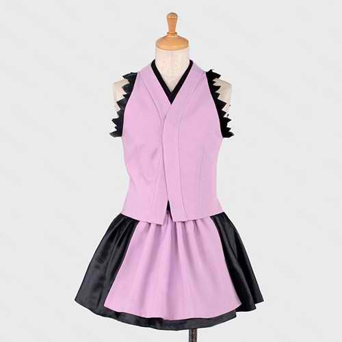 Inspired by Unbreakable Machine-doll Komurasaki Cosplay Costume