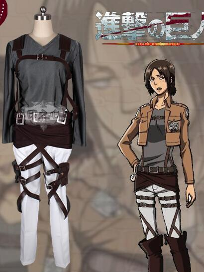 Inspired by Attack on Titan Ymir Survey Corp Cosplay Costume
