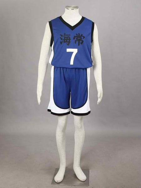 Inspired by Kuroko's Basketball Kaijo Kise Ryota #7 Jersey Uniform Costume - Ver 1